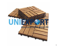 Wooden Top Plastic Base Deck Tile12 Slat
