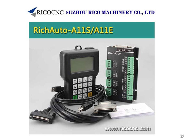 Richauto A11 Handle Dsp Controller System For Cnc Router Machine