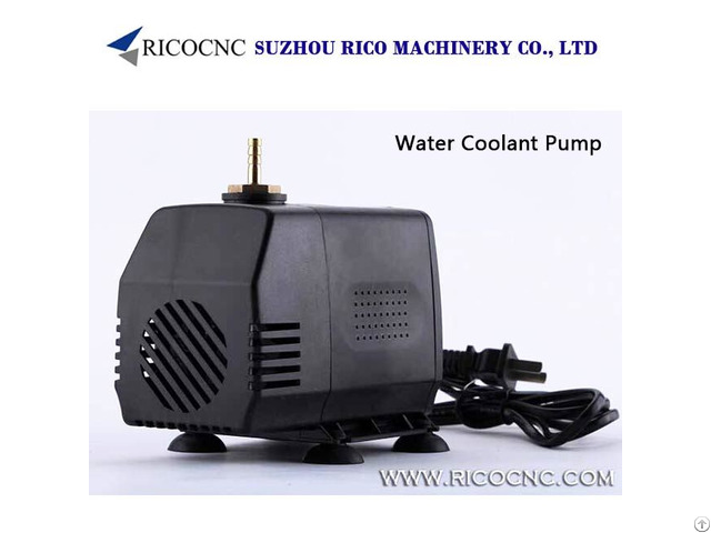Small Electric Water Coolant Pump Kits For Cnc Cooling Spindle