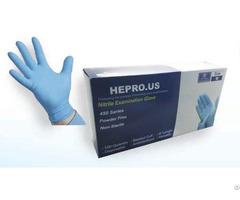 Hepro Us Nitrile Gloves 450 Series