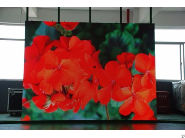 Led Screen Indoor Rental Type Aluminum Cabinet 500 1000mm