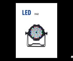 Ip65 Stage Dmx 54x3w Led Par Rgb Disco Light