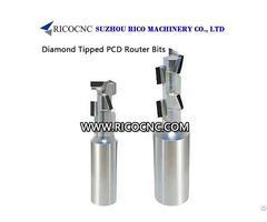 Diamond Tipped Pcd Router Bits For Wood Cnc Nesting