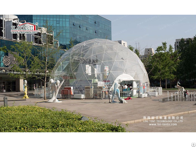 Hotel Dome Tent For Outdoor Wedding Party And Event