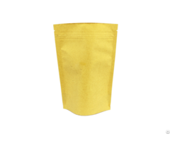 Kraft Stand Up Paper Bags With Zipper