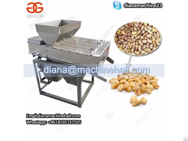 Automatic Roasted Peanuts Peeler Machine