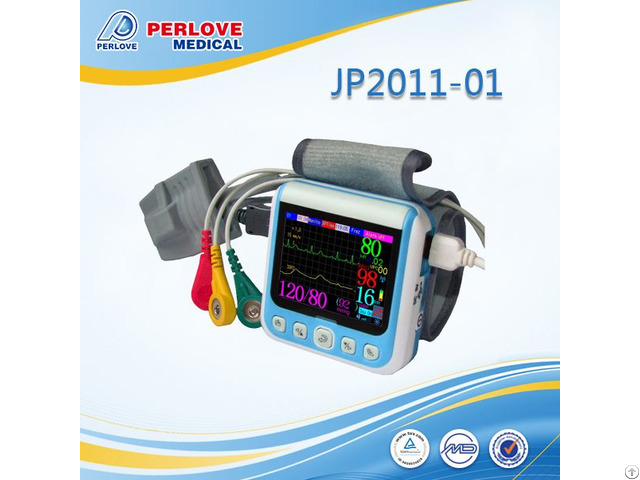 Portable Patient Monitor Jp2011 01 With Multi Parameters Sign