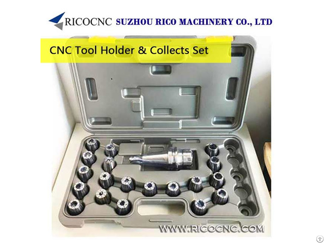 Cnc Milling Tool Holder With Metric Er Collet Sets