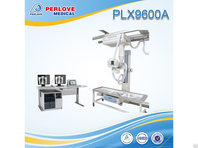 Ceiling Suspended X Ray Machine Plx9600a With Bed