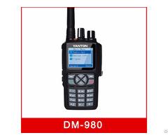 Dm 980 Digital Dmr Dual Mode 5w Sms Radio