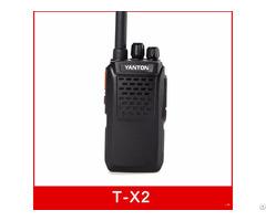 T X2 Digital Public Network Walkie Talkie Gps Wcdma Sim Card Radio