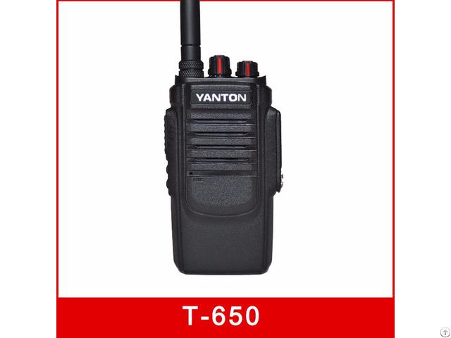 T 650 10w Tot Fm Transceiver Dtmf 2500mah