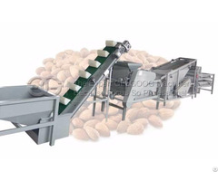 Almond Shelling And Separator Machine