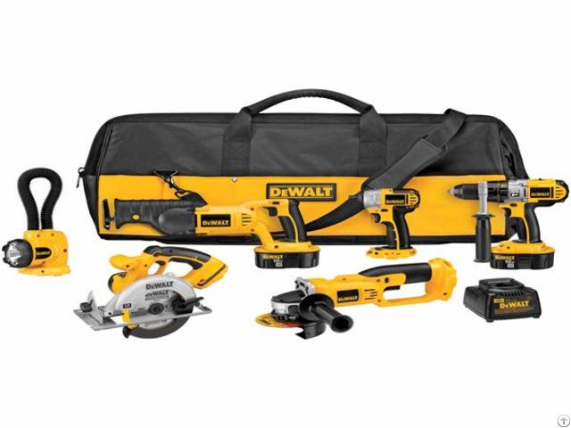 Dewalt Dck655x 18v Xrp 6 Tool Combo Kit Impact Driver
