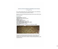 Dap Diammonium Phosphate 18 46 0