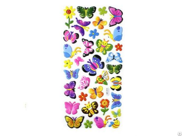 Butterflyanimal Puffy Stickers