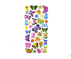 Butterflyanimal Puffy Stickers