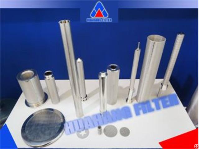 316l Stainless Steel Sintered Fiber Felt Pleated Filter