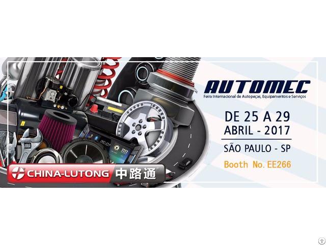 China Lutong Will Attend Automec Sao Paulo 2017