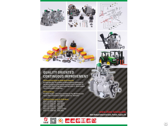 China Lutong S Ve Diesel Injection Pump For Non Road Vehicles Wins Praise