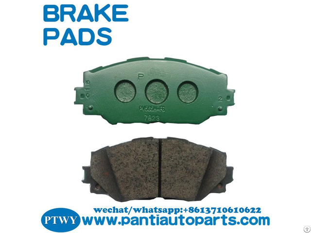 Brake Pad 04465 02220 For Toyota Corolla 2009