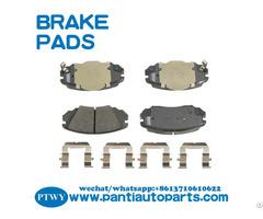 Brake Pad Set For Buick Chevrolet Gmc Saab 13237753