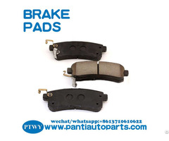 Car Disc Brake Pad For Infiniti D1510 25340 D40601lb0a On Sell