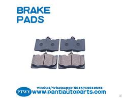 Genuine Auto Brake Pad 04465 30410 With High Quality