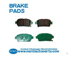 High Performance Brake Pads For Toyota Corolla 04465 13050