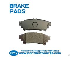 High Quality Brake Pad 04466 0e010 For Lexus