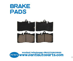 High Quality Car Brake Pads Dus For Toyotalexus Oe04465 50170