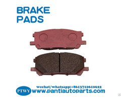 Parts Rx350 Front Brake Pads 04465 0w070 For Lexus Rx330 Toyota Highlander 2004 2009