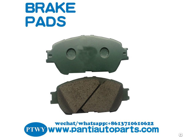 Top Quality Brake Pads 04465 33270 For Toyota Lexus