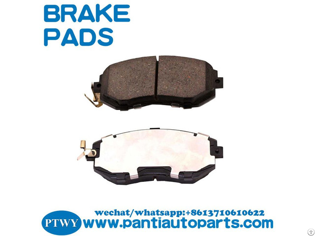 Wholesale Discs Brake Pads Japanese Car Parts For Subaru 26296 Sc010