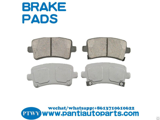 Wholesale Brake Pads 16586609 For Buick Cadillac Saab