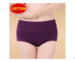 Ladies Cotton Panty High Waisted