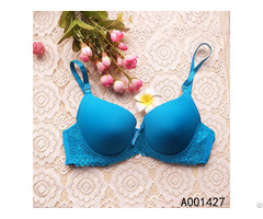 Cup Underwire Bra With Lace Trim