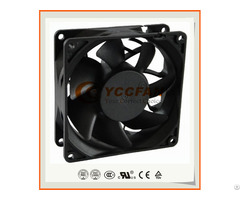 90mm 9232 12v 24v 48v Dc Brushless Small Square Shape High Pressure Axial Flow Cooling Fan 92x92x32