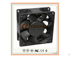 90mm 9238 High Air Flow 12v 24v 48v Dc Brushless Small Axial Cooling Fan 92x92x38