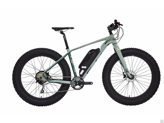 Fat Tyre Electric Bike 26 4 0 350w