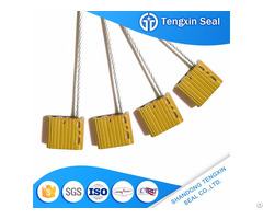 Aluminum Modern Materials With Laser Printing Wire Cable Seal
