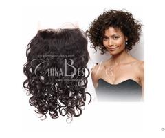 Short Curl Lace Closure