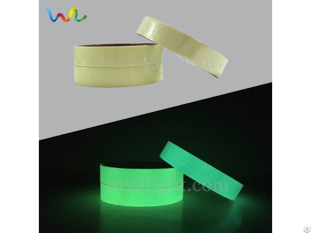 Glow In The Dark Tape Photoluminescent Vinyl Roll Luminous Sheets Marking Stickers