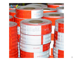 Red And White Dot C2 Reflective Tape For Trailers