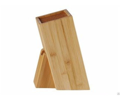 Wooden Square Knife Block