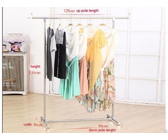 Stainless Steel Or Composite Strong Single Pole Clothes Drying Rack