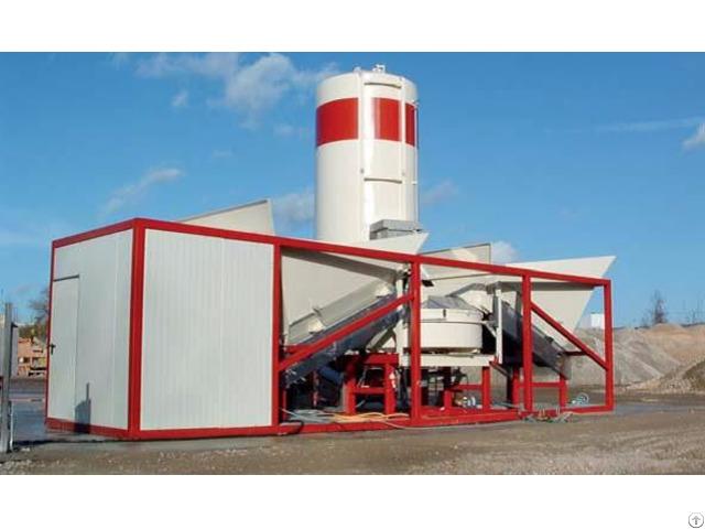 Mobile Concrete Plant Sumab K 30