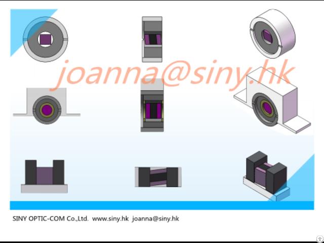 Mini Free Space Optical Isolator For Tosa Rosa Bosa
