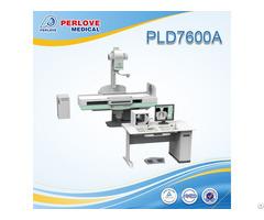 Stable Performance Fluoroscopy X Ray Unit Pld7600a