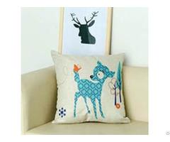 Customizing Printed Linen Cotton Pillows